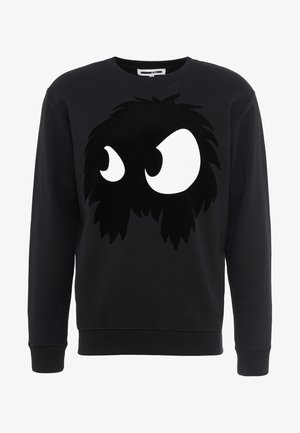 BIG CREW NECK - Sweatshirt - darkest black