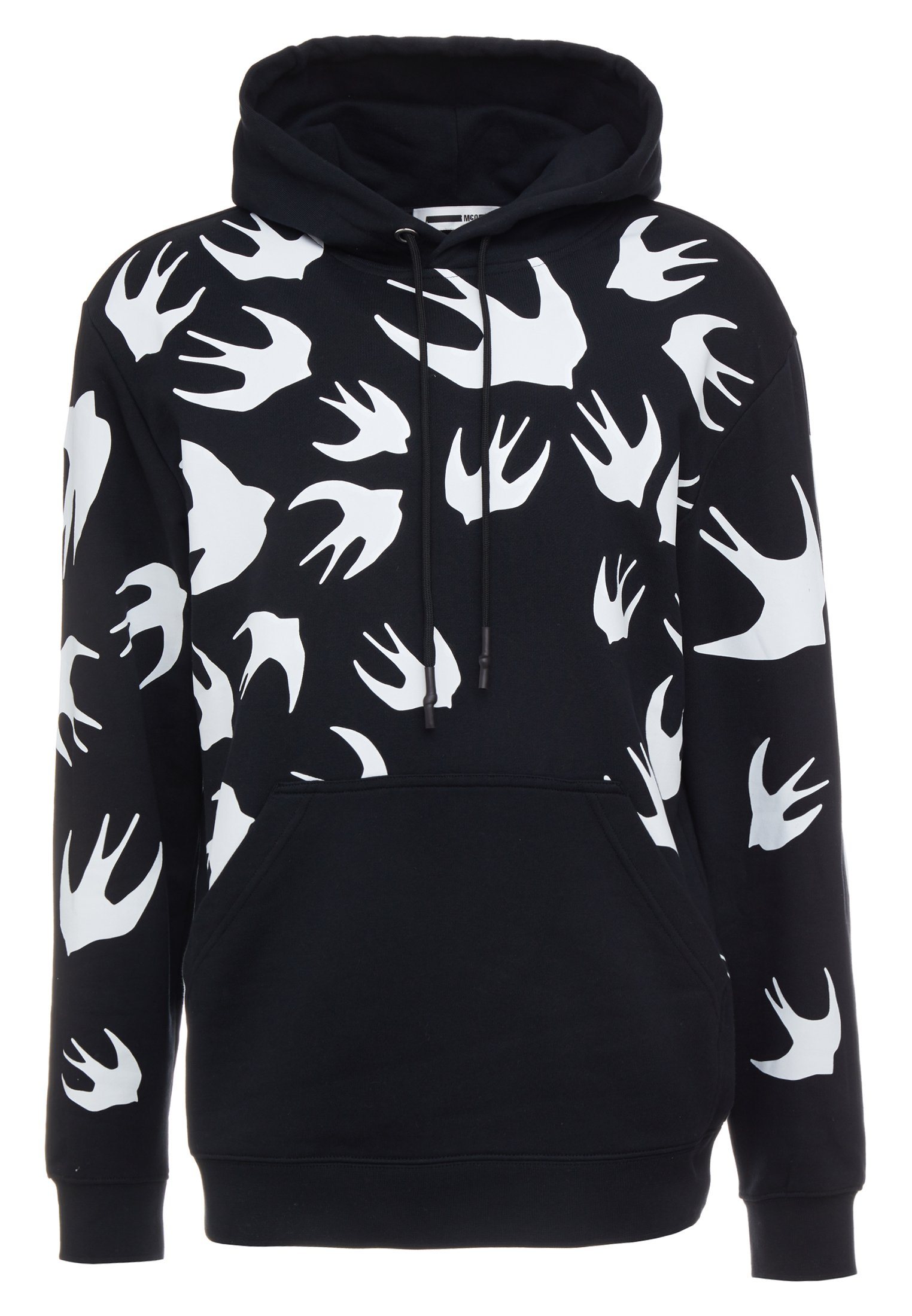 McQ Alexander McQueen HOODIE - Jersey con capucha - darkest black