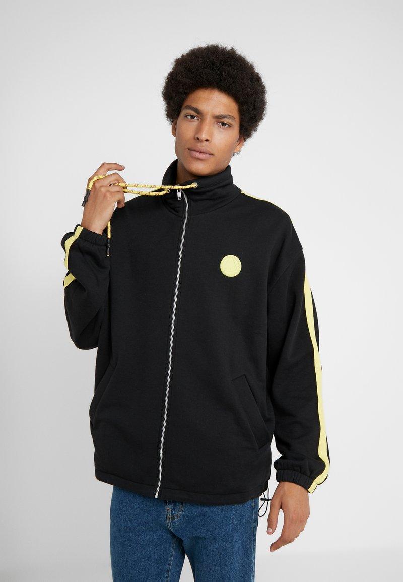 McQ Alexander McQueen - ZIPPY TRACK - veste en sweat zippée - darkest black