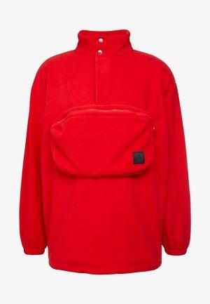RAVE - Fleecepullover - solar red