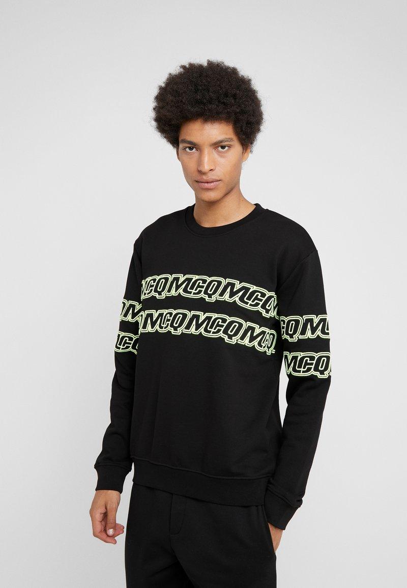 McQ Alexander McQueen - CLEAN CREW NECK - Sweatshirt - darkest black