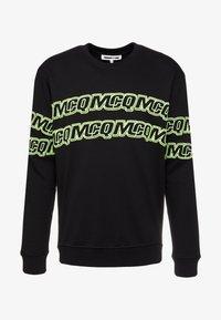 McQ Alexander McQueen - CLEAN CREW NECK - Sweatshirt - darkest black - 4