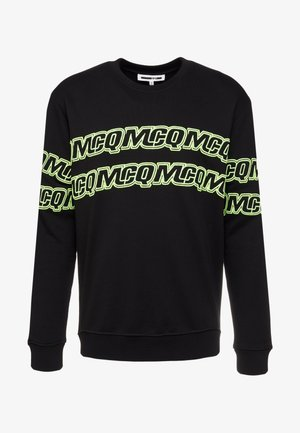 CLEAN CREW NECK - Sweatshirt - darkest black