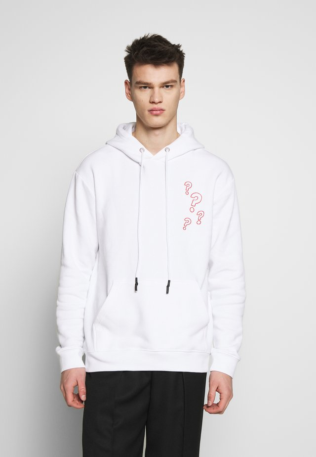 HOODIE - Huppari - optic white