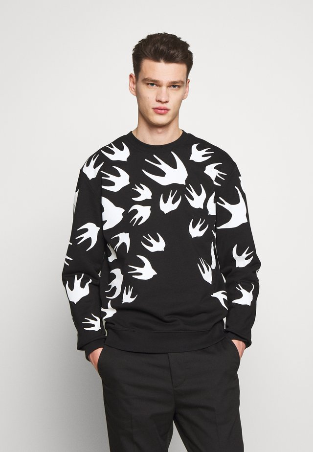 SWALLOW - Sweatshirt - darkest black