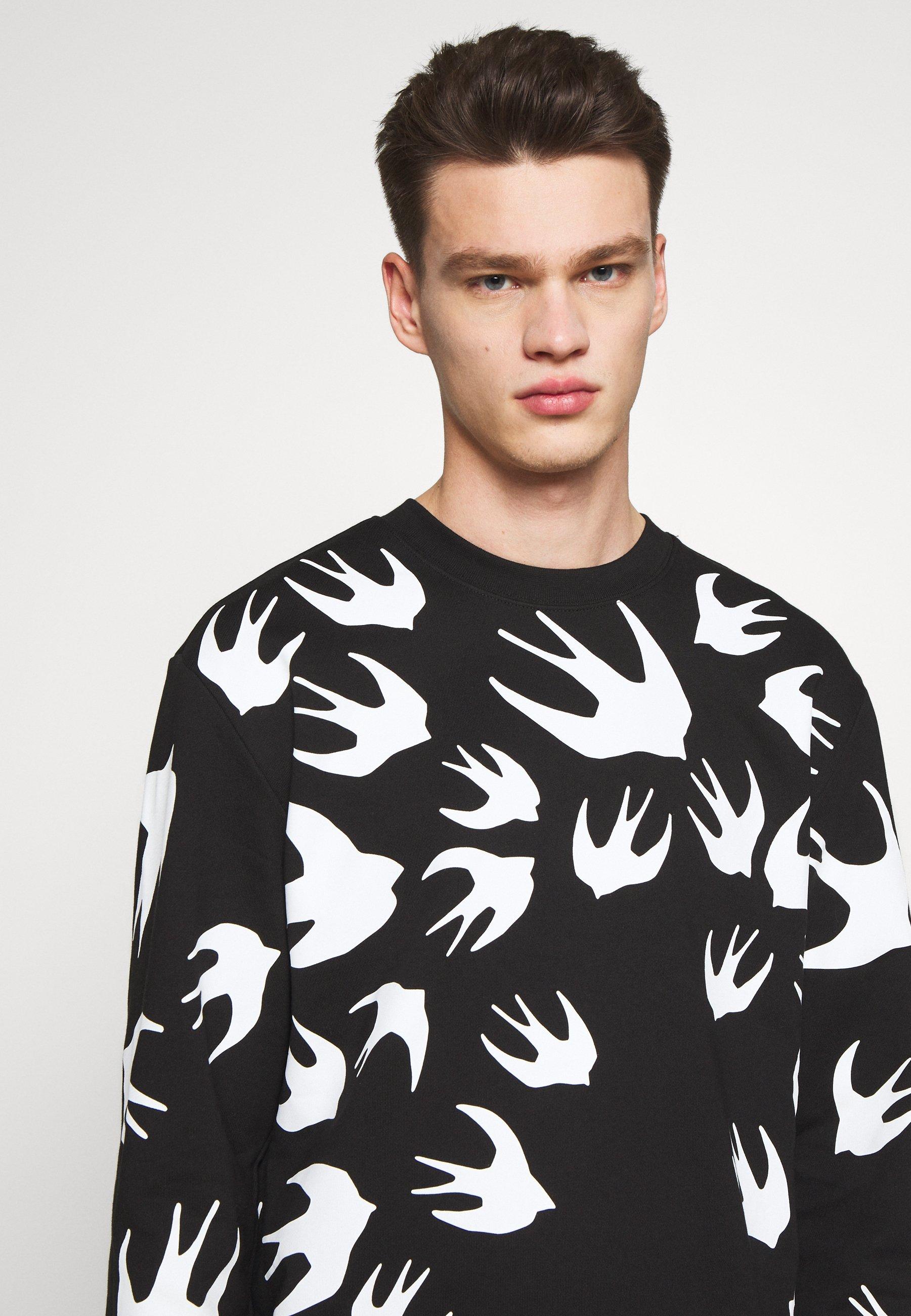 McQ Alexander McQueen SWALLOW - Bluza - darkest black