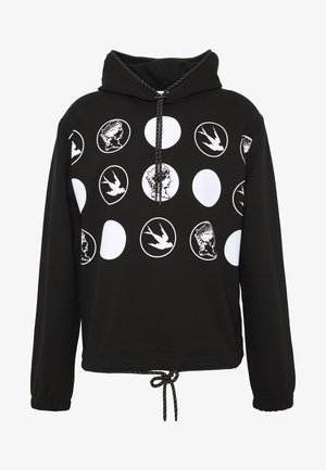 CLEAN HOODIE SWALLOW - Mikina s kapucí - darkest black