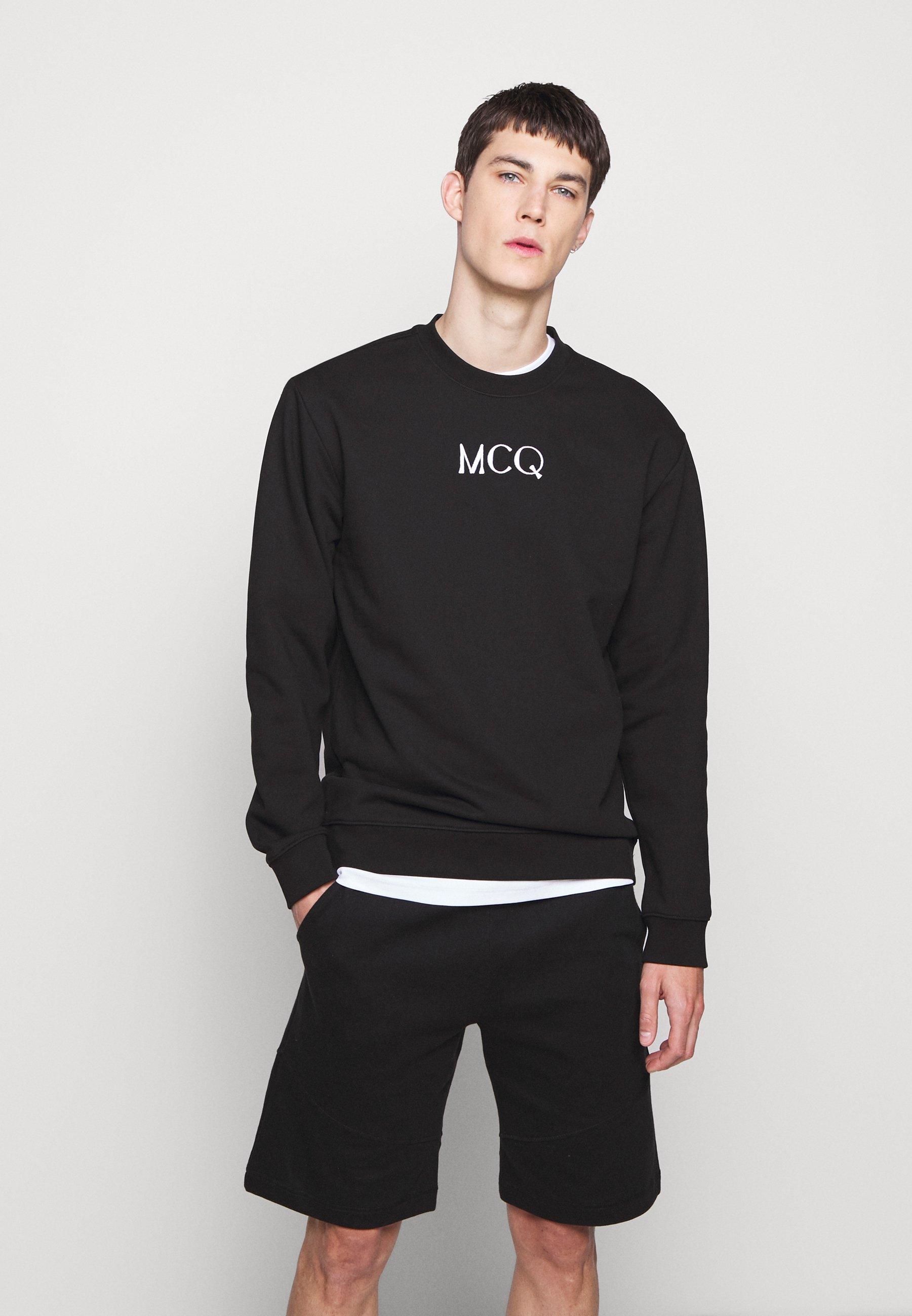 McQ Alexander McQueen Bluza - darkest black