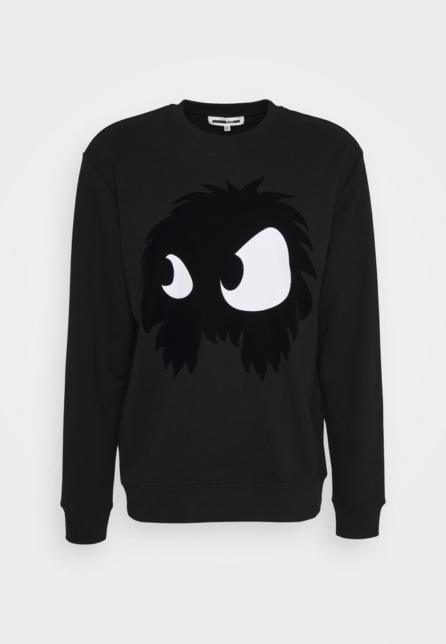 Sweatshirt - darkest black