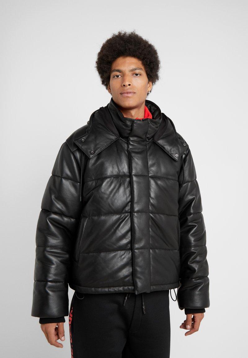 McQ Alexander McQueen - PUFFER - Kurtka zimowa - darkest black