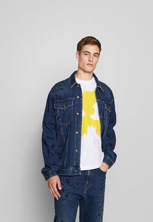 PHIL JACKET - Veste en jean - vintage blue painted