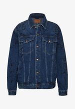 PHIL JACKET - Džínová bunda - vintage blue painted