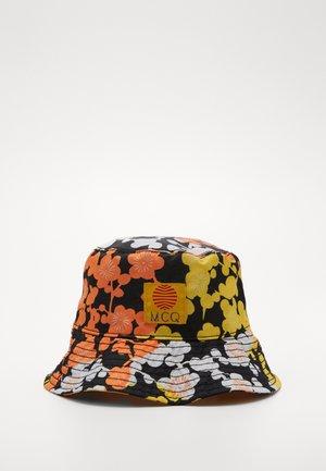 BUCKET HAT - Hattu - black/multi