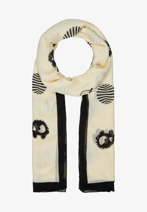 MONSTER SUN SCARF - Sjal - oyster/black