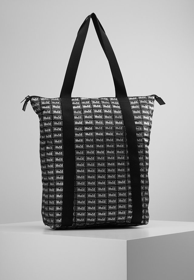 MAGAZINE TOTE - Tote bag - darkest black