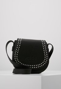 McQ Alexander McQueen - MINI SATCHEL - Across body bag - black - 0