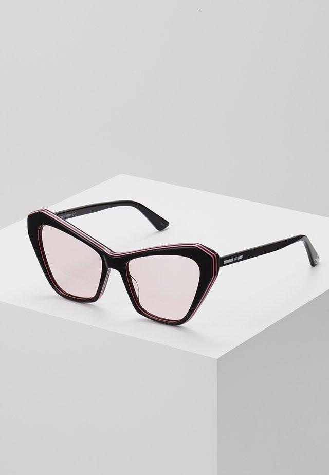 Lunettes de soleil - black/pink