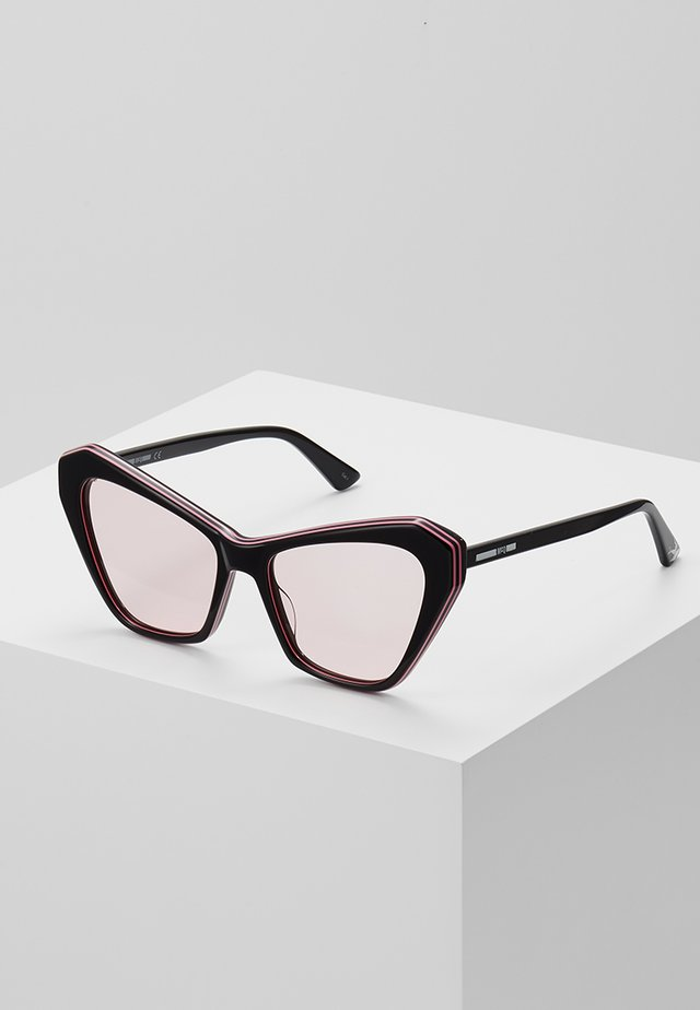 Sonnenbrille - black/pink