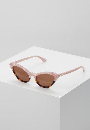 Zonnebril - pink/brown