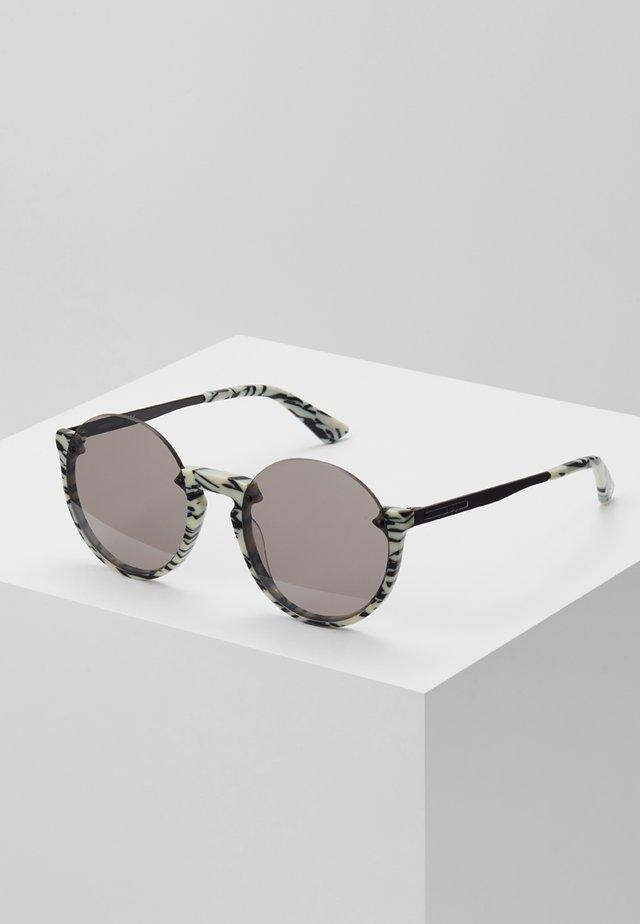 Aurinkolasit - ivory/black/silver-coloured