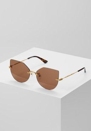 Zonnebril - gold/brown