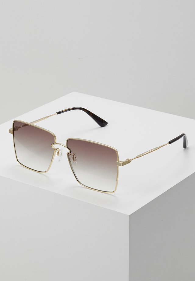 Lunettes de soleil - gold-coloured/brown