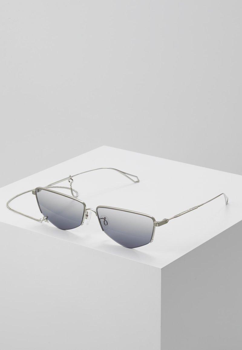 McQ Alexander McQueen - Sluneční brýle - silver-coloured/grey