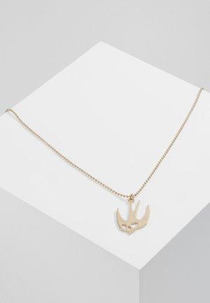 SWALLOW PENDANT - Halskette - gold-coloured