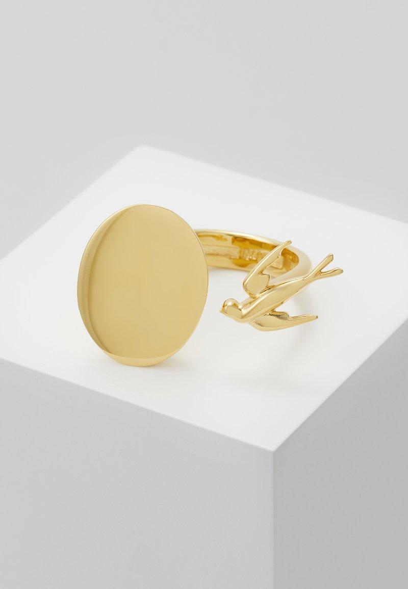 McQ Alexander McQueen - SWALLOW - Ring - gold-coloured