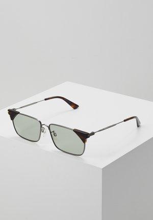 Sluneční brýle - ruthenium/green