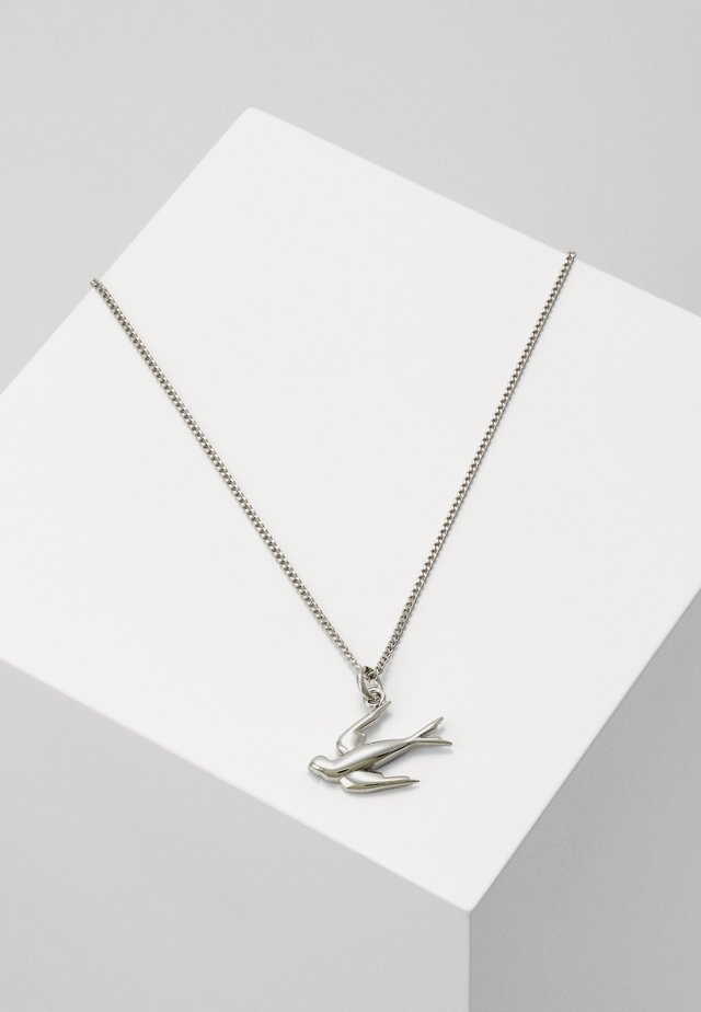 NECKLACE SWALLOW - Naszyjnik - silver-coloured