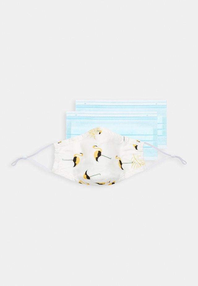 FACE MASK - Maschera in tessuto - white