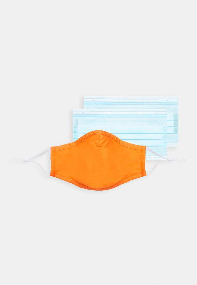 FACE MASK - Masque en tissu - orange