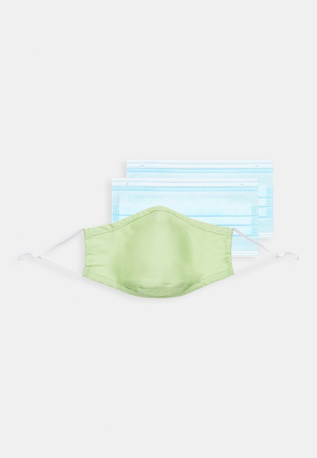 FACE MASK - Maska z tkaniny - green