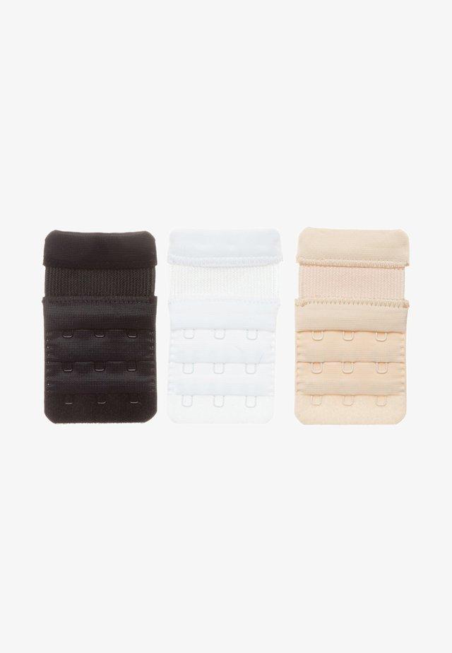 3 Pack - Bra Extender - Other - white/black/skin