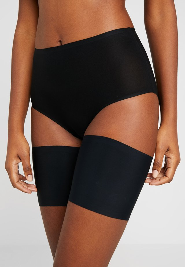 BE SWEET TO YOUR LEGS - THIGH BANDS - OBERSCHENKELBÄNDER - Overknee kousen  - black