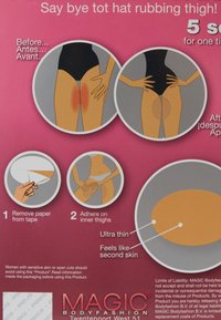 MAGIC Bodyfashion - TAPE THAT THIGH 2 PACK - Accessoires Sonstiges - clear - 3