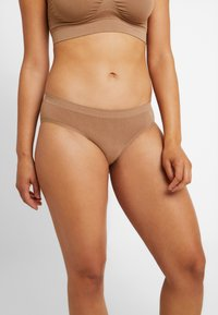 MAGIC Bodyfashion - TRENDY HIPSTER 2 PACK - Slip - mocha - 1