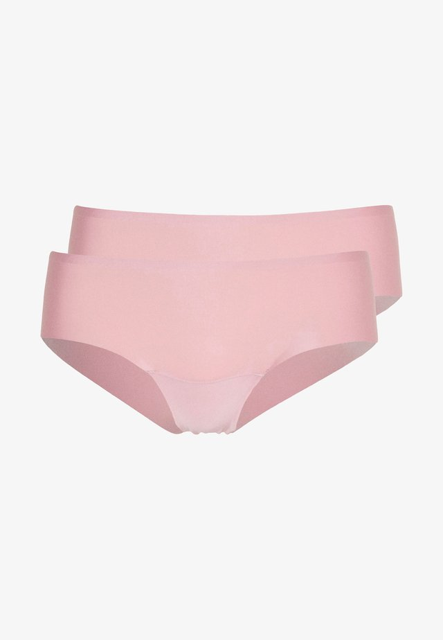 DREAM INVISIBLES HIPSTER 2 PACK - Underbukse - blush pink