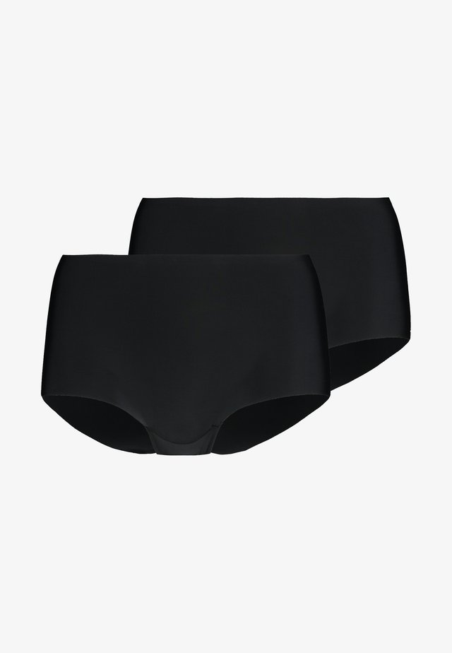 DREAM INVISIBLES BOYSHORT 2 PACK - Shapewear - black