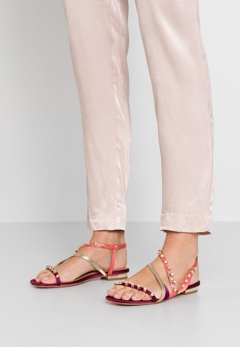 MAX&Co. - ANGHIARI - Sandals - purple