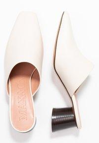 MAX&Co. - ACRONIMO - Sandaler - ivory - 3