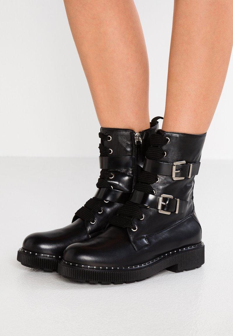 MAX&Co. - ALDO - Cowboy/biker ankle boot - black