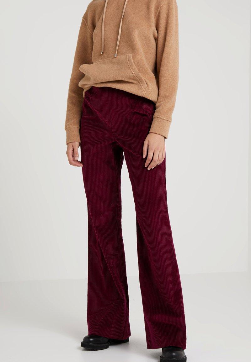 MAX&Co. - DICEMBRE - Trousers - plum