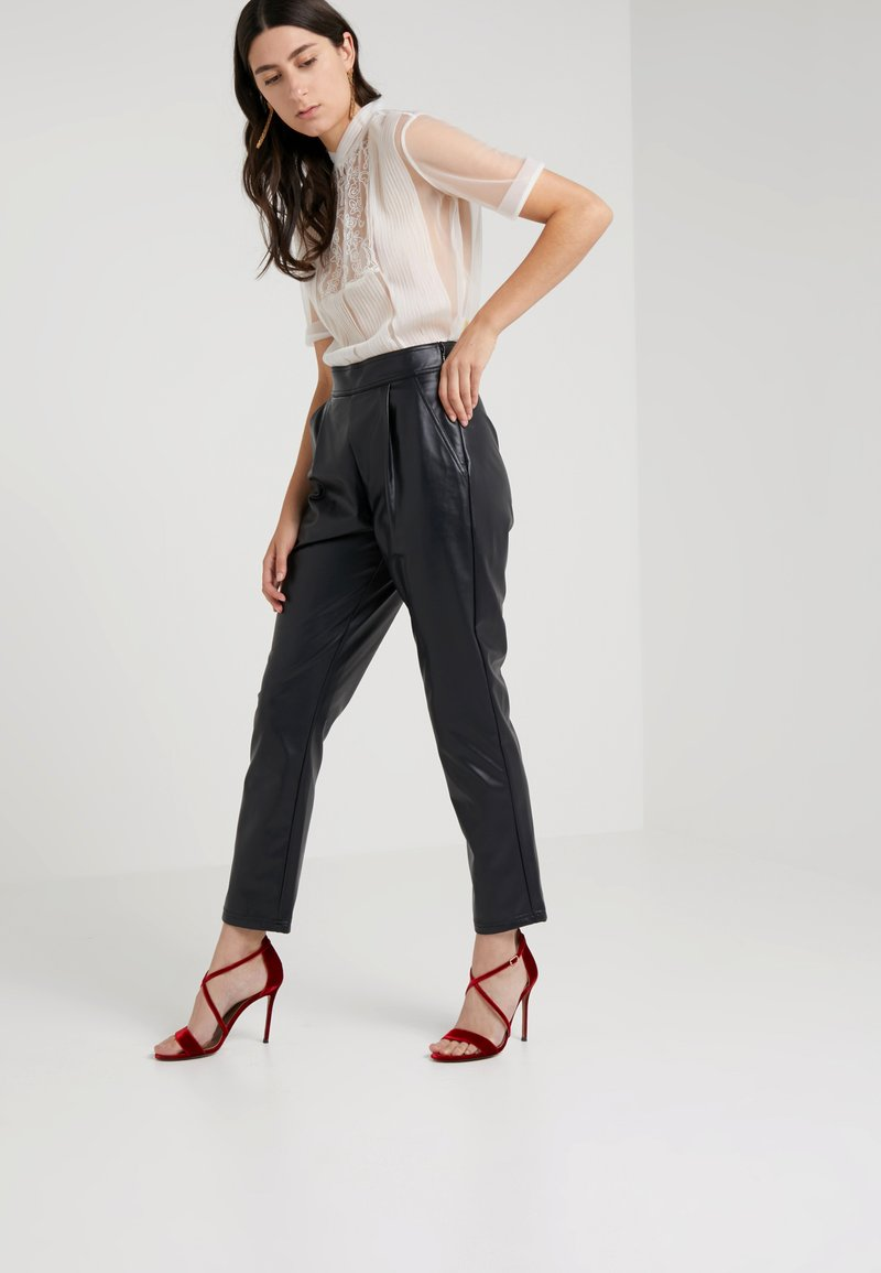 MAX&Co. - DESTRO - Trousers - black