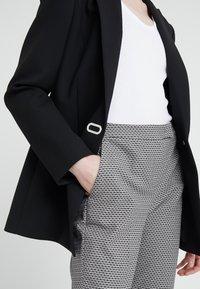 MAX&Co. - PELLAME - Kalhoty - black pattern - 4