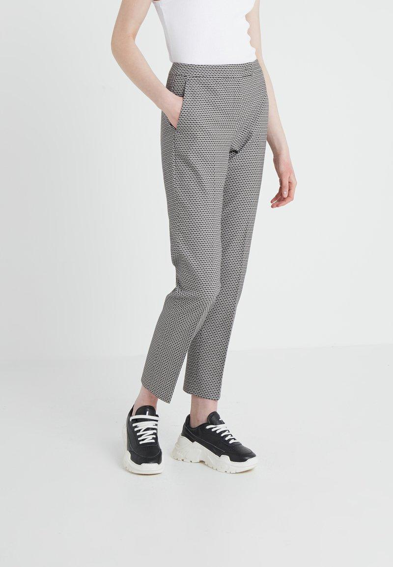 MAX&Co. - PELLAME - Kalhoty - black pattern