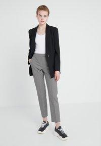 MAX&Co. - PELLAME - Kalhoty - black pattern - 1