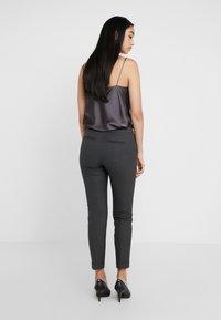 MAX&Co. - MONOPOLI - Trousers - dark grey - 2