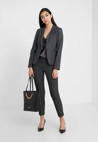 MAX&Co. - MONOPOLI - Trousers - dark grey - 1